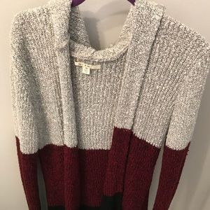 Francesca's Hooded Cardigan